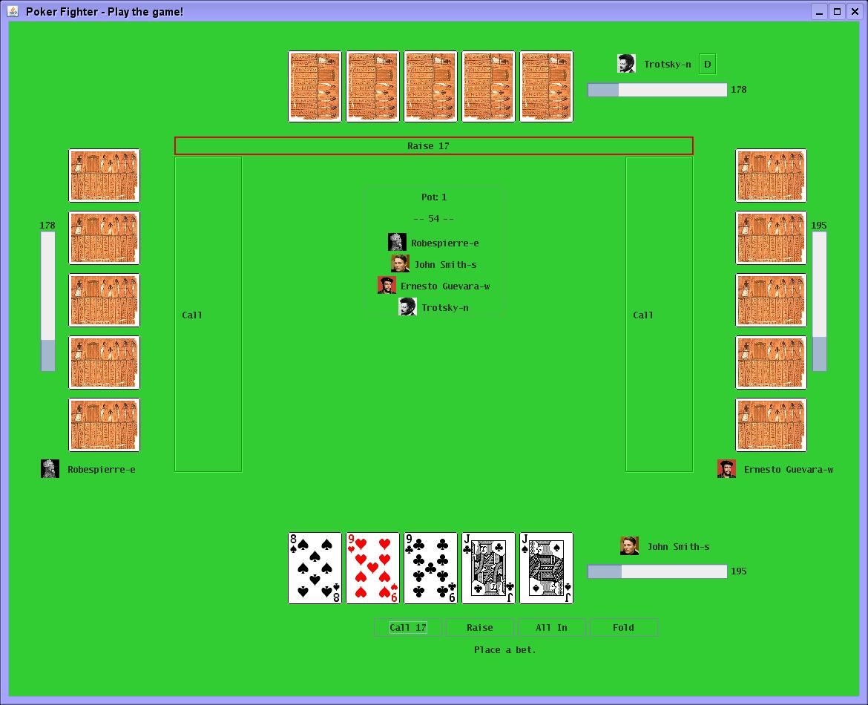 Poker game flash source code