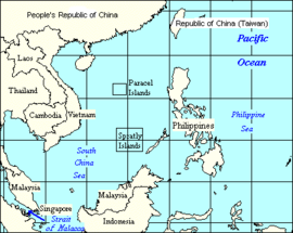 South China Sea Islands Names