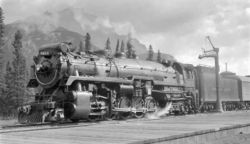 Image result for canadian pacific steam locomotives in winnipeg