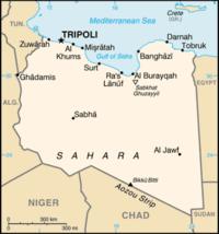 Tripoli - Where is libya