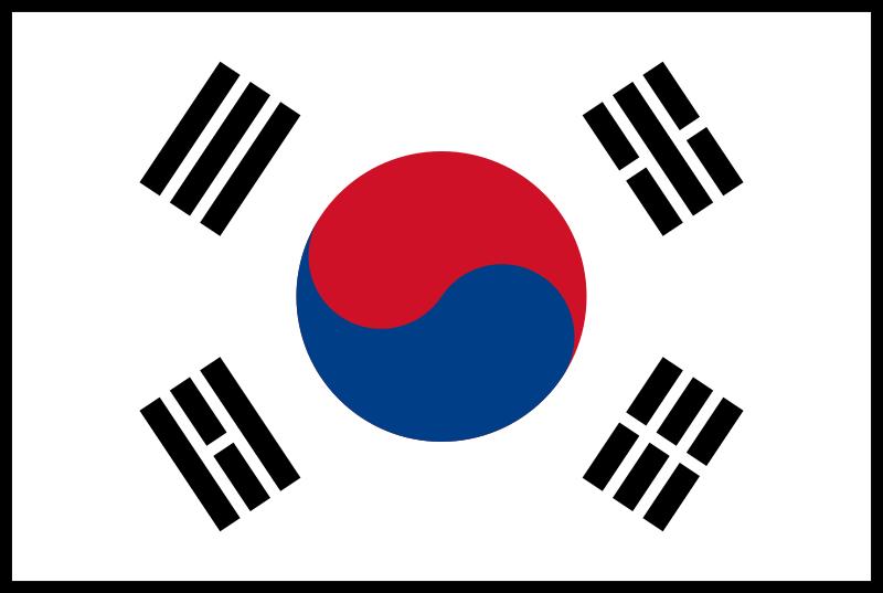 Korea South Flag