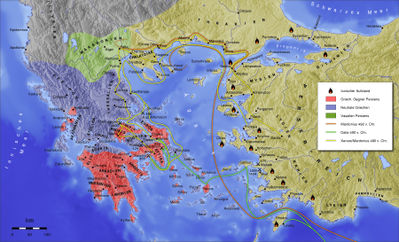 reasons for greek victory during the persian wars The battle of salamis the greek and persian ships rammed each other and something the victory of the greeks marked the turning point in the persian wars.