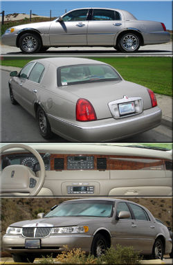 Lincoln town car 2000 lincoln town car signature series with visible design changes sciox Image collections