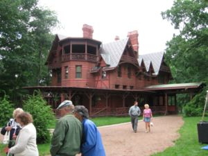 South View Of The Mark Twain House