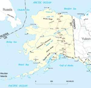 Fort Yukon Alaska Map.History Of Alaska