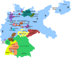 Map Of Germany 1919.Germany