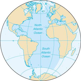 Ocean - Names of oceans and seas