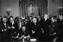 1964 Illinois Lyndon Johnson Coattails Campaign Card for State Representatives