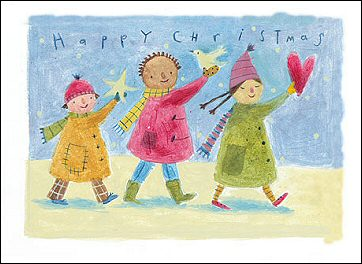 2005 Charity Christmas Cards for SOS Children