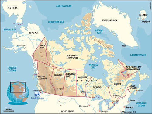 Canada+city+map