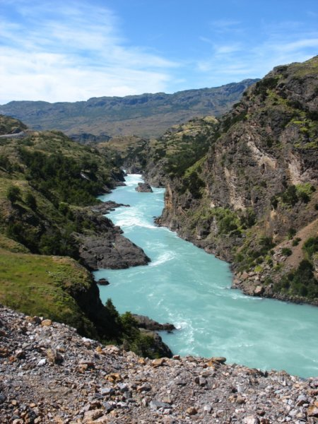 Patagonia South America >> Rio Baker, Chile's widest river